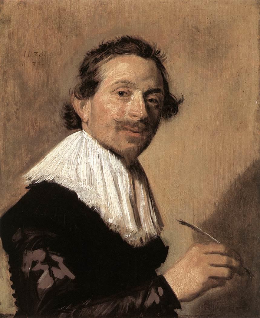 Epph Frans Hals Portrait Of Jean De La Chambre