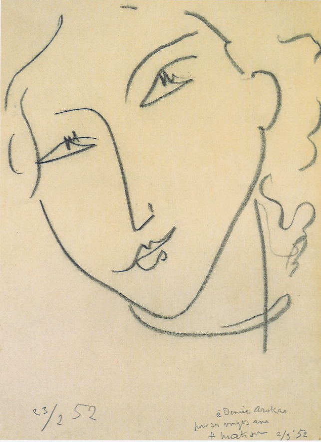 Line Drawing Matisse : Epph matisse s way with eyes