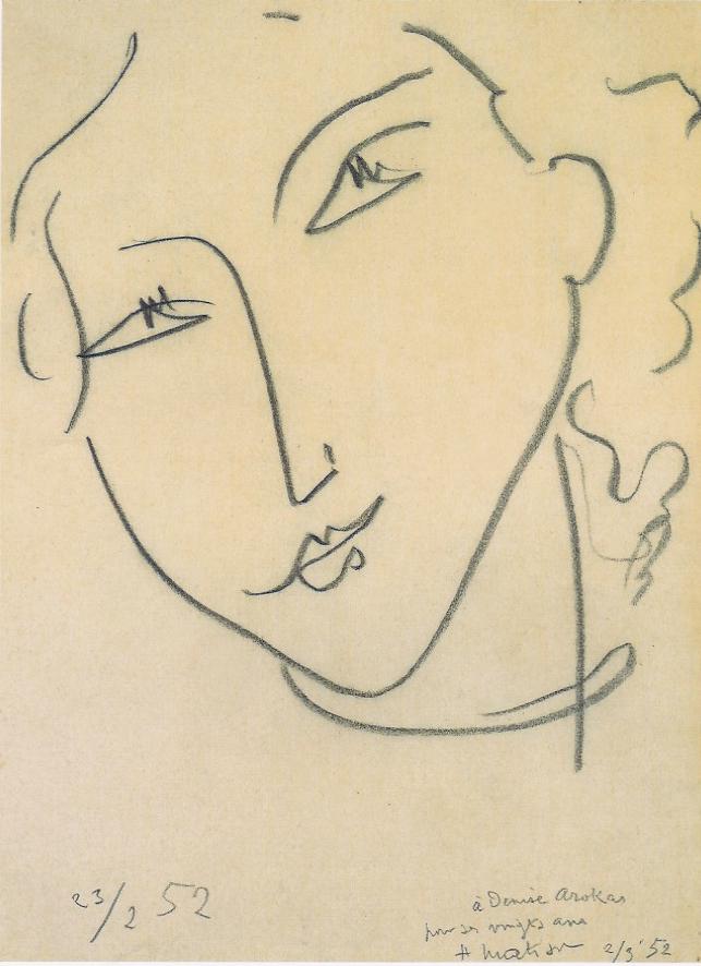 Line Drawing Matisse : Matisse eye art henry henrri