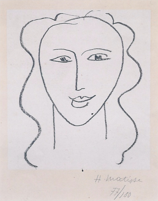 Line Drawing By Matisse : Epph matisse s way with eyes