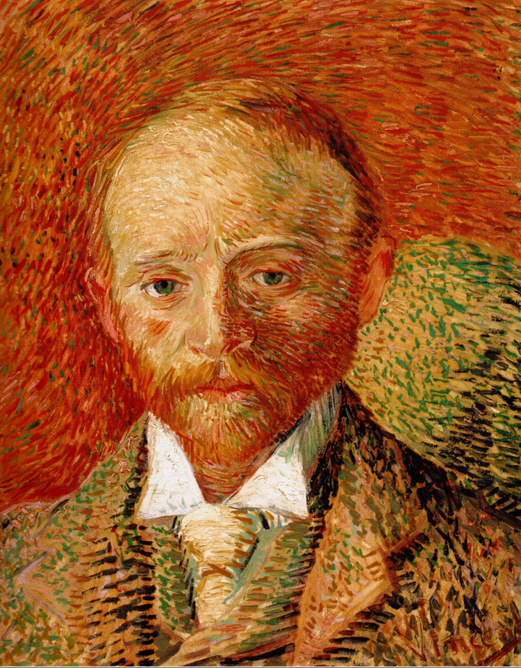Epph Van Gogh Rsquo S Portrait Of Alexander Reid 1887