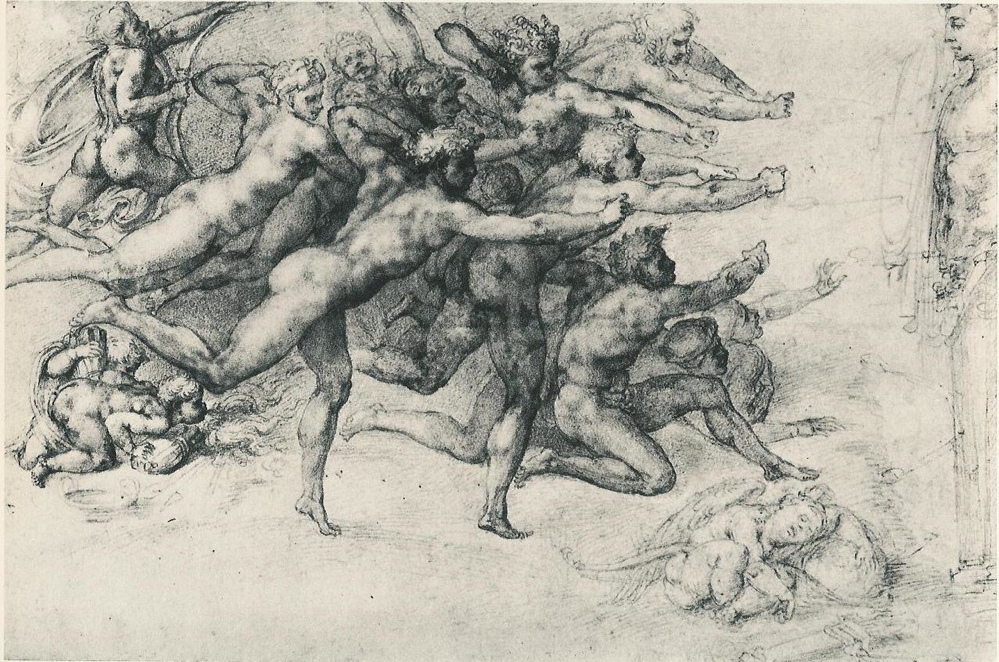 Ange Archer epph | michelangelo's archers shooting at a herm (c.1530) part 2