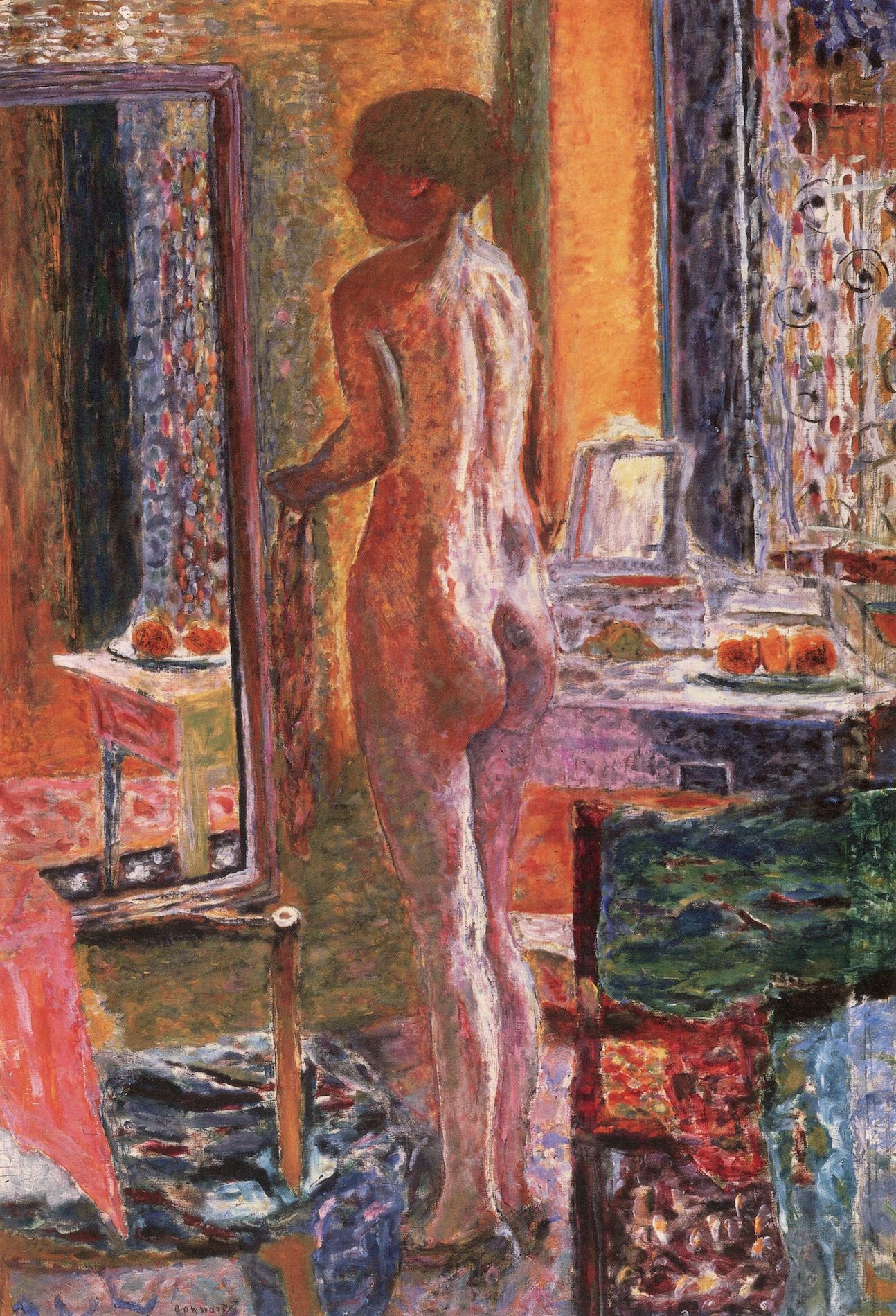 Bonnard nude in the bath only reserve