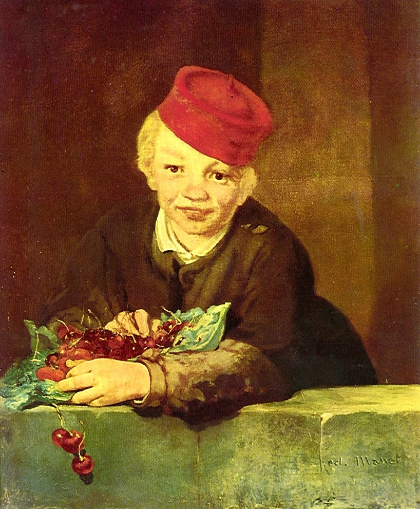 http://www.everypainterpaintshimself.com/article_images_new/Boy_with_Cherries.JPG