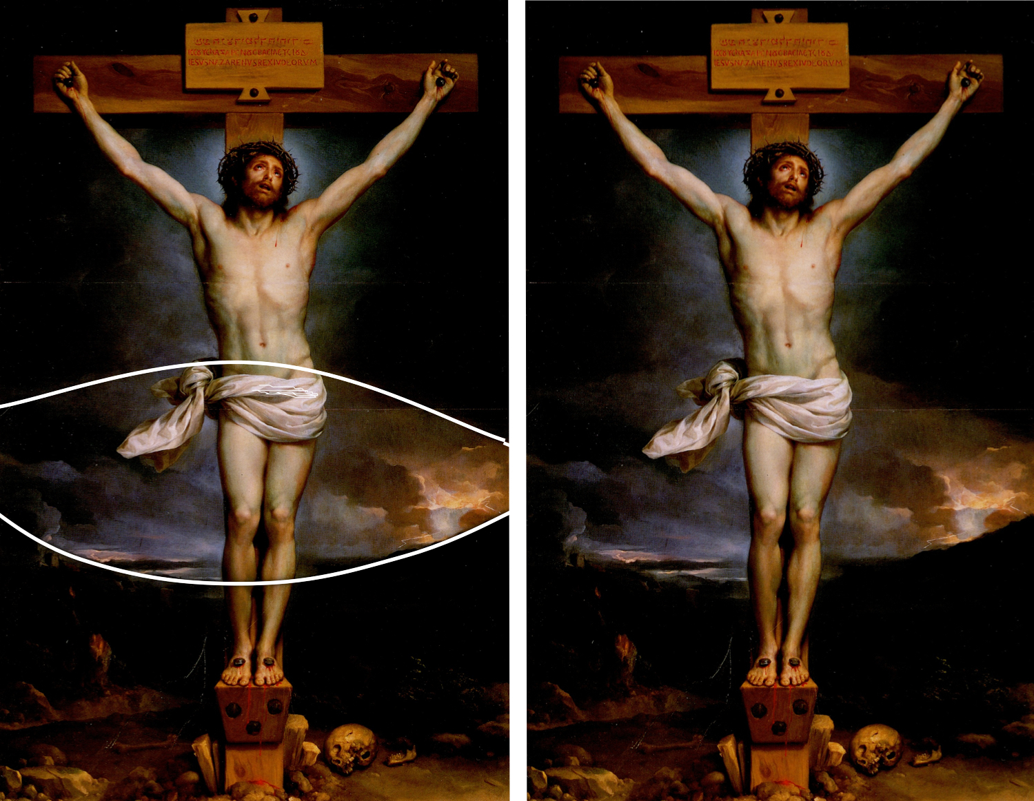 epph mengs u0027 christ on the cross 1761 9 goya u0027s and francis
