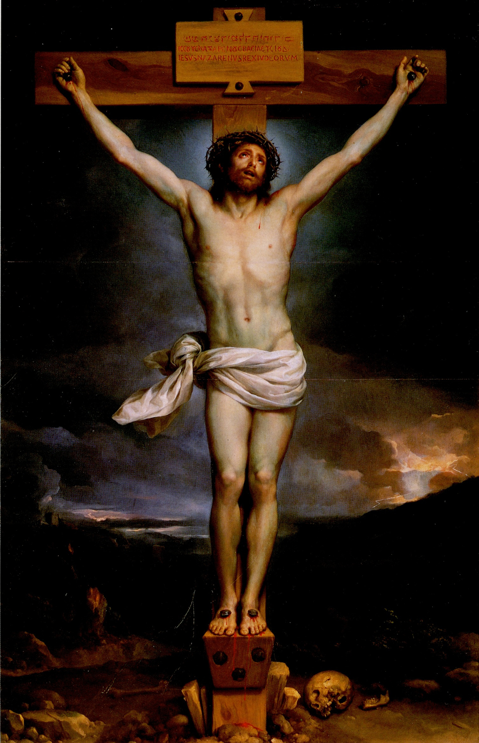 EPPH | Mengs' Christ on the Cross (1761-9), Goya's and