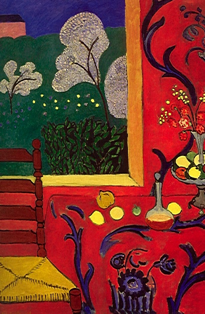 Epph matisses harmony in red 1908 for Applying the harmony to your living room paintings