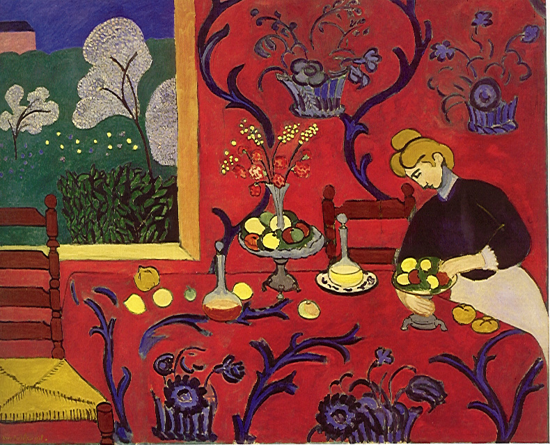Matisse Harmony In Red
