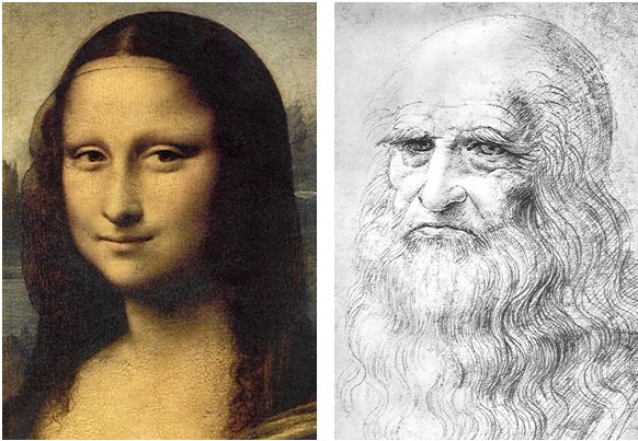 Facial feature mona lisa missing