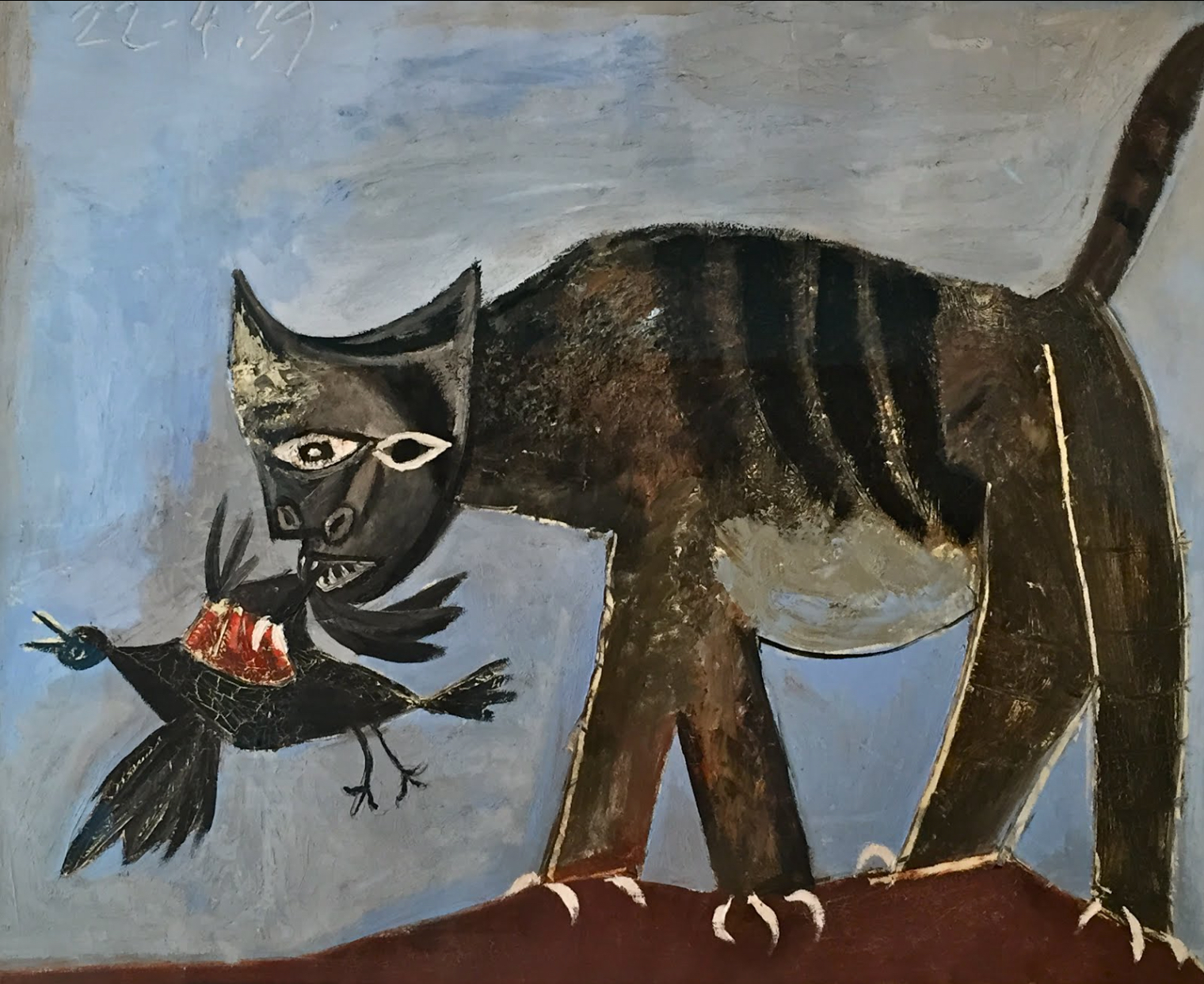 Epph Picasso S Cat Catching A Bird 1939