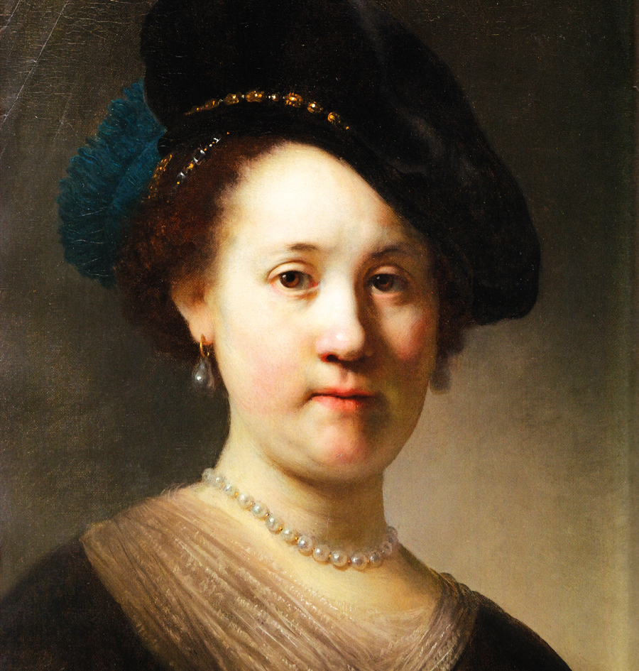 epph rembrandt�s portrait of a young woman 1632