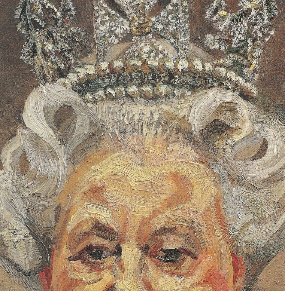 The gallery for --> Queen Crown Painting