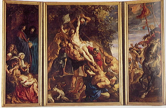 EPPH Rembrandt's Raising Of The Cross (c.1633)