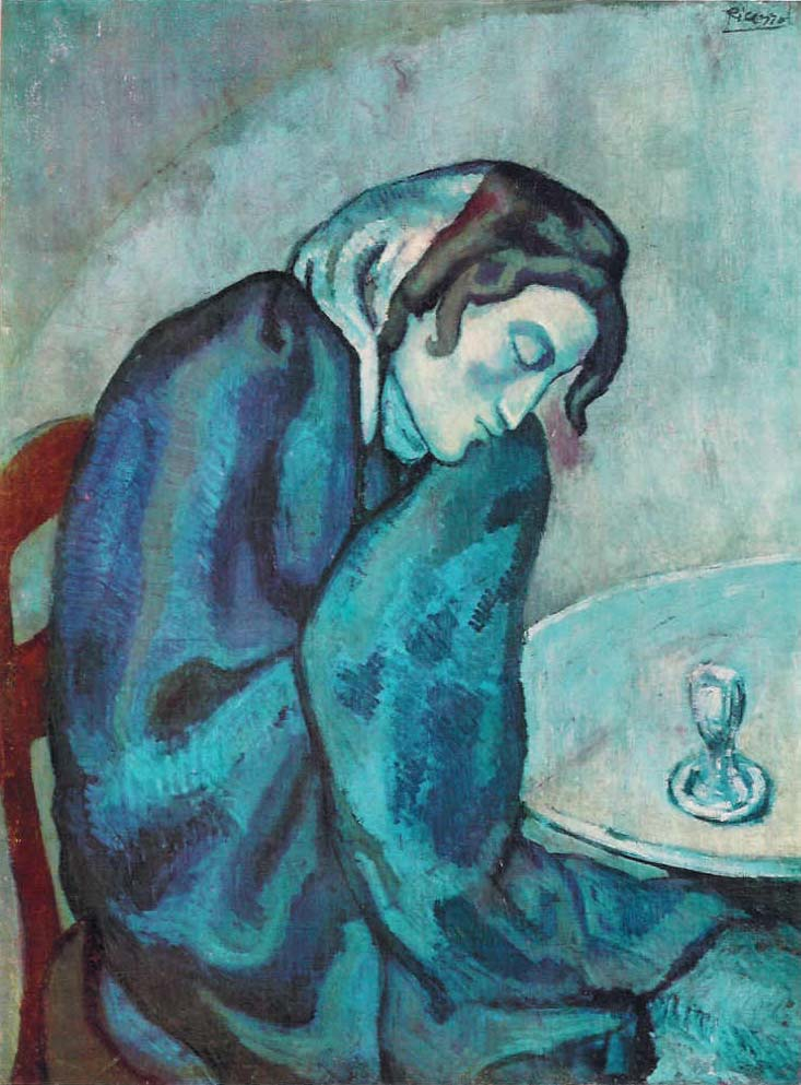 EPPH | Picasso's Harlequin (1901) and Blue Period