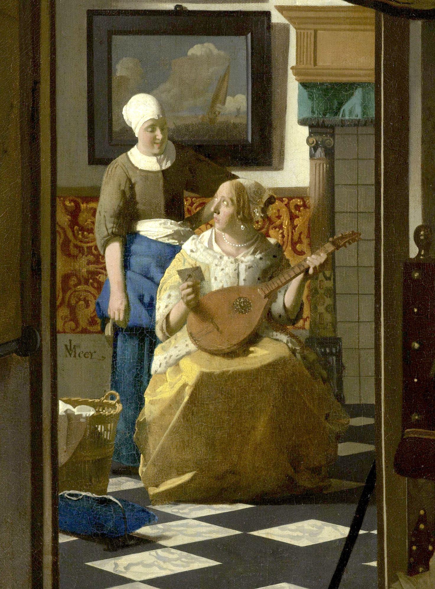 EPPH | Vermeer's The Love Letter (c.1669 70)