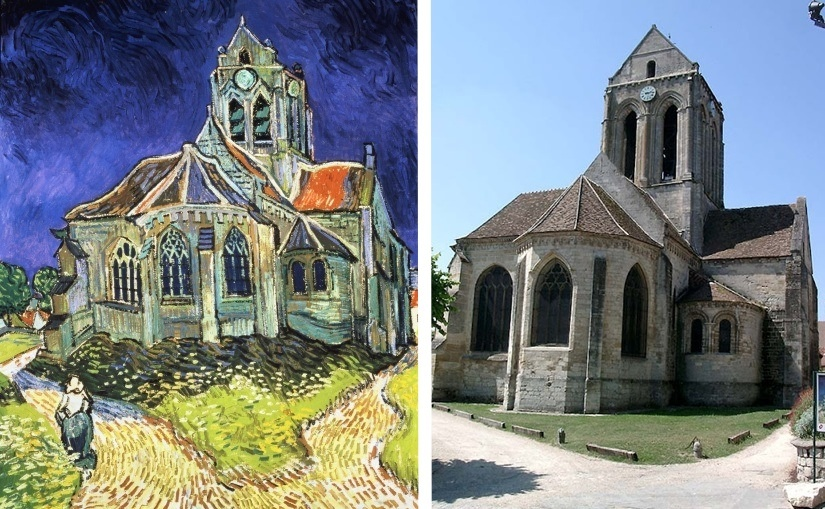 van gogh church at auvers analysis