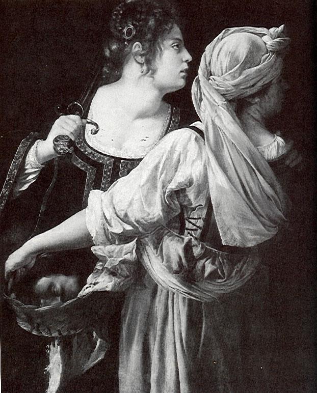 Gentileschi   s Judith and Her Maidservant with the Head of HolofernesJudith And Her Maidservant With The Head Of Holofernes