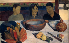 Gauguin's The Meal (1891)