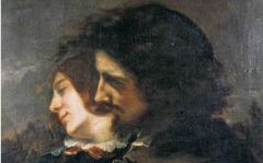 Courbet's The Lovers (1844)