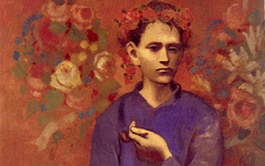 Picasso's Boy with a Pipe (1905)