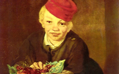 Manet's Boy with Cherries (1860)