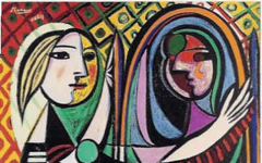 Picasso's Girl Before a Mirror (1932)