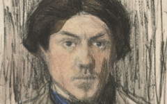 Picasso's Self-Portrait (late1901)