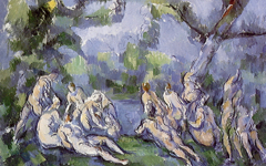 Cézanne's Bathers (1899-1904)