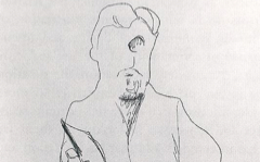 Matisse's Self-Portrait Sketching (1900)