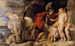 Rubens' Perseus Freeing Andromeda (c. 1622)