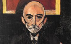 Matisse's Portrait of Auguste Pellerin II (1917)