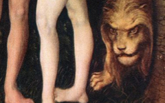 Cranach's Animals in Adam and Eve's (1509-1533)