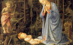 Lippi's Adoration in the Forest (c.1460)