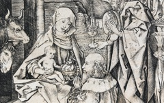 Schongauer's Adoration of the Magi