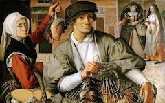Aertsen's Market Scene (c.1560-65)