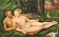 Altdorfer's Lot and His Daughters (1537)