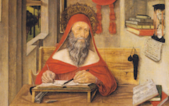 Antonio da Fabriano's St Jerome in His Study (1451)