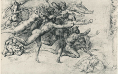 Michelangelo's Archers Shooting at a Herm (c.1530) Part 1