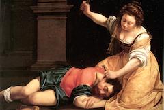 Artemisia Gentileschi's Jael and Sisera (1620)