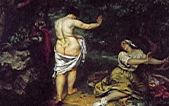 Courbet's Bathers (1853)
