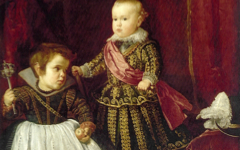 Velazquez's Prince Baltasar Carlos with a Dwarf (1632)