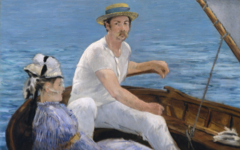 Manet's Boating (1874)