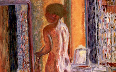 Bonnard's Nude at a Mirror or The Toilette (1931)