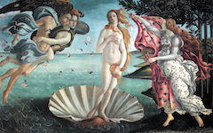 Botticelli's Birth of Venus (1484-6): Part One
