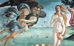 Botticelli's Birth of Venus (1484-6): Part Two