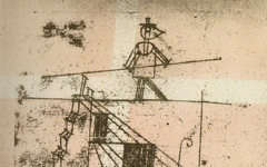 Klee's Tightrope Walker (1923)