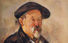 Cézanne's Self-Portrait with a Beret (1898-9)