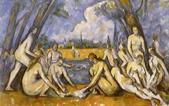 Cézanne's Large Bathers (c.1906)