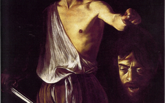 Caravaggio's David with the Head of Goliath (1610)