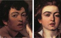 Caravaggio's Faces